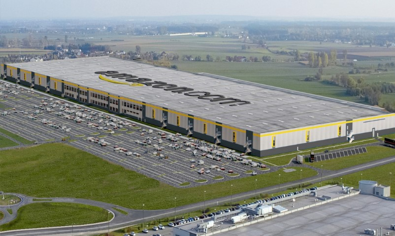 Logistikzentrum Amazon in Sady bei Posen